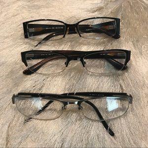 Accessories - Bundle of 3 pair of Prescription Glasses
